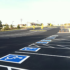 Asphalt Striping Services
