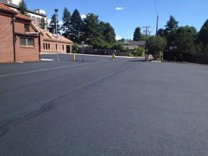 Asphalt parking lot paving in Colorado Springs